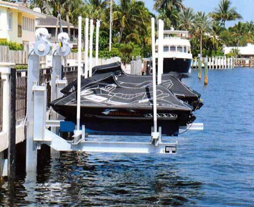 Personal Watercraft Boat Lifts - Golden Boat Lifts