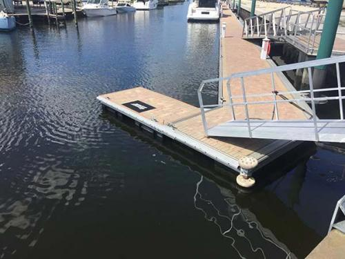 aluminum floating dock section-4